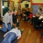 £300 for defibrillator charity
